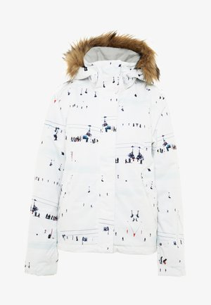 JET SKI  - Snowboard jacket - bright white