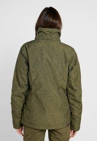 Roxy - JET SKI SOLID - Snowboardová bunda - ivy green - 4