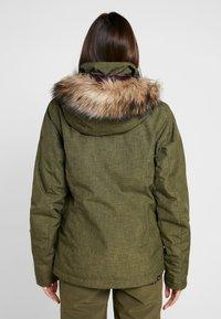 Roxy - JET SKI SOLID - Snowboardová bunda - ivy green - 2