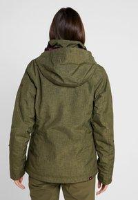 Roxy - JET SKI SOLID - Snowboardová bunda - ivy green - 3