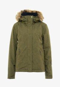 Roxy - JET SKI SOLID - Snowboardová bunda - ivy green - 8
