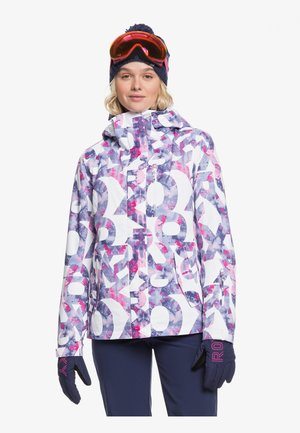 JETTY JK - Veste de snowboard - bright white