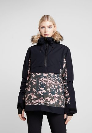 SHELTER  - Veste de snowboard - true black poppy