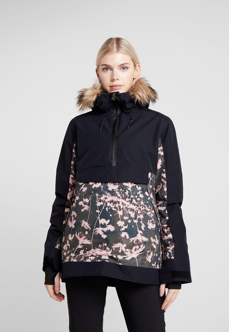 Roxy - SHELTER  - Snowboardová bunda - true black poppy