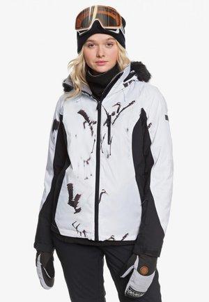 JET SKI PREM - Snowboard jacket - true black/white
