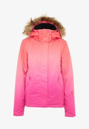 JET SKI  - Snowboard jacket - beetroot pink prado gradient