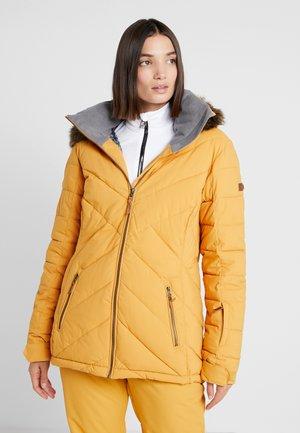 QUINN  - Giacca da snowboard - spruce yellow