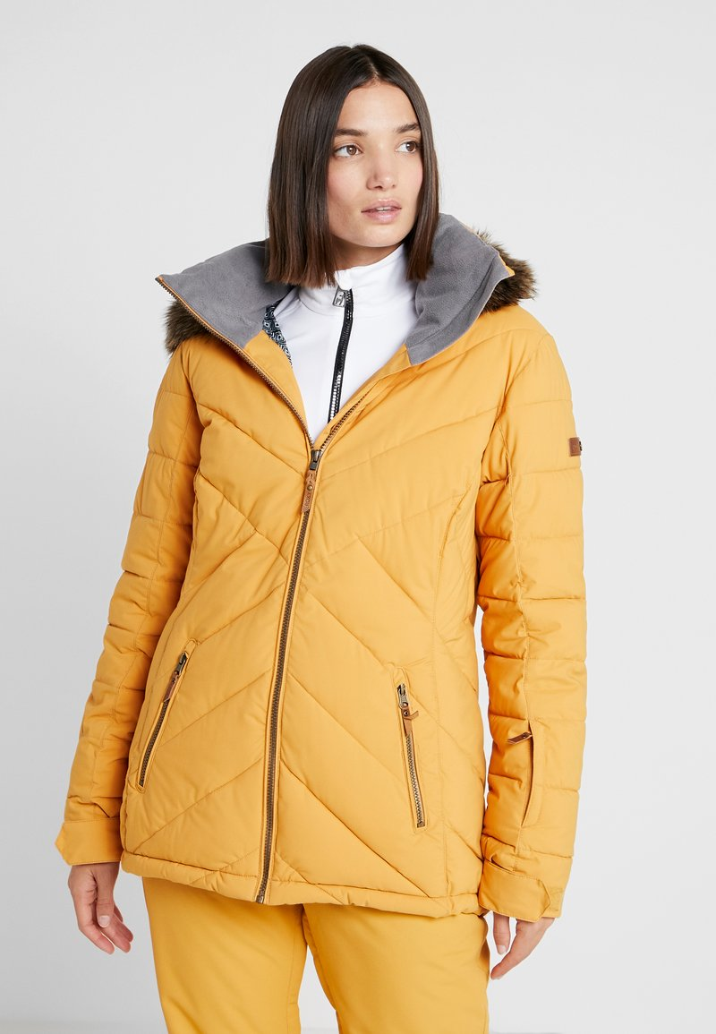Roxy - QUINN  - Snowboardjas - spruce yellow