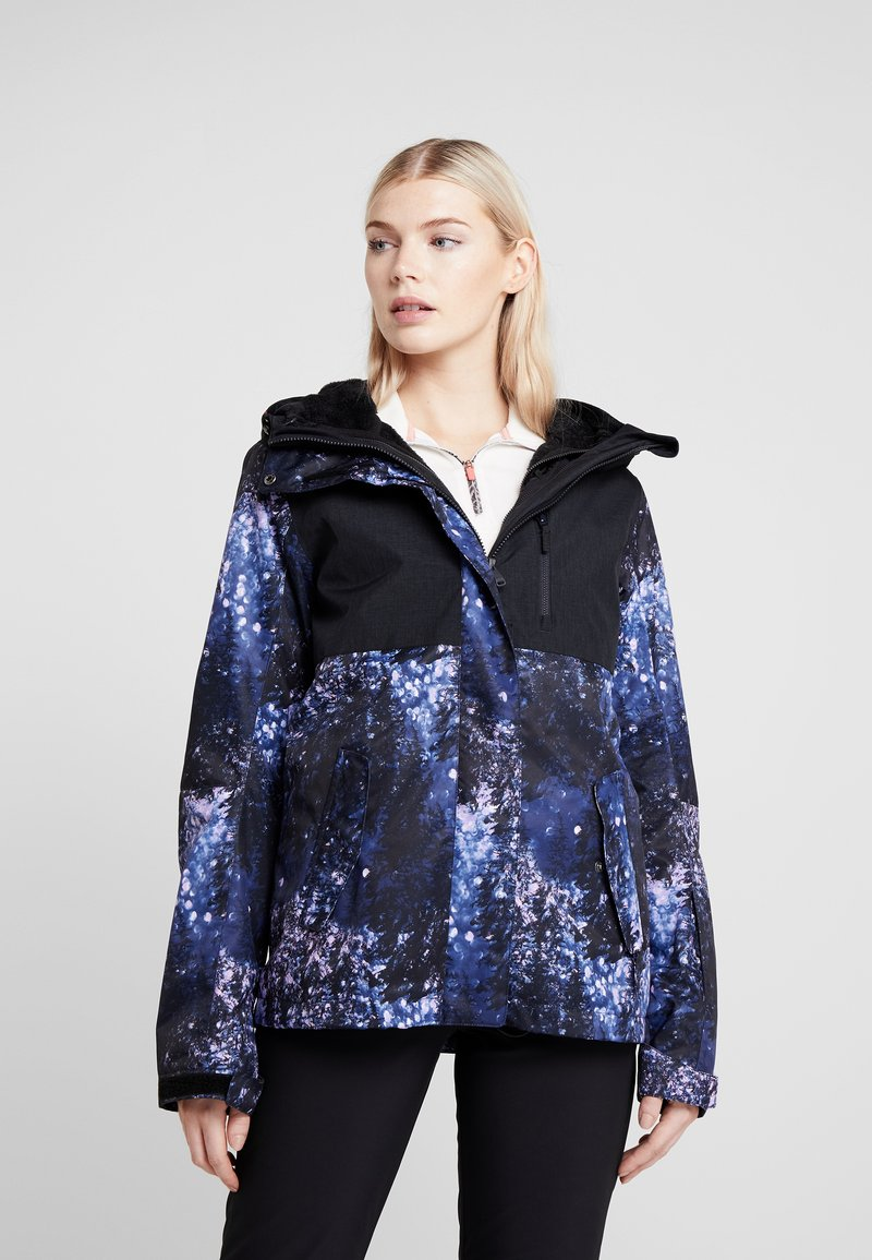 Roxy - JETTY 2-IN-1 - Snowboard jacket - medieval blue sparkles