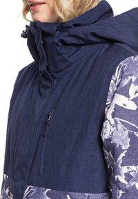 Roxy - ERJTJ - Snowboardjacke - dark blue - 5