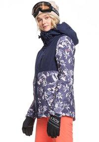 Roxy - ERJTJ - Snowboardjacke - dark blue - 3