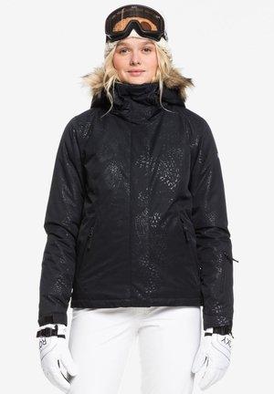 JET SOLID - Snowboardjas - black