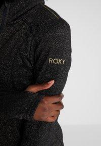 Roxy - HARMONY SHIMMER - Forro polar - true black - 5