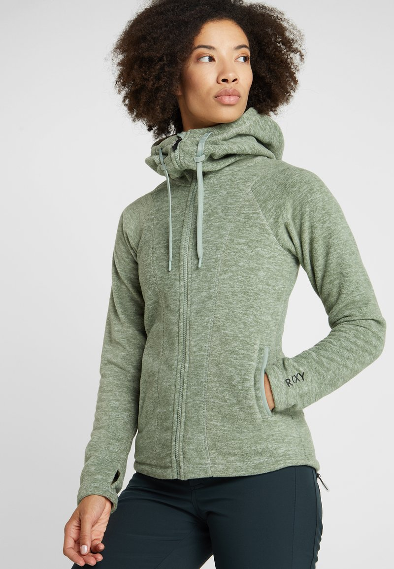 Roxy - ELECT FEEL IN - Giacca in pile - pad heather