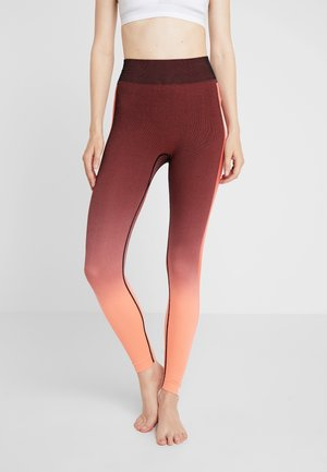 ARTIC TRACKS - Legging - rosarancio
