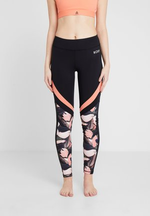 SLOPES - Tights - living coral plumes