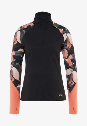 Sweat polaire - living coral plumes
