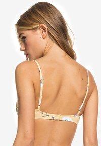 Roxy - LAHAINA - Bikini top - yellow - 2