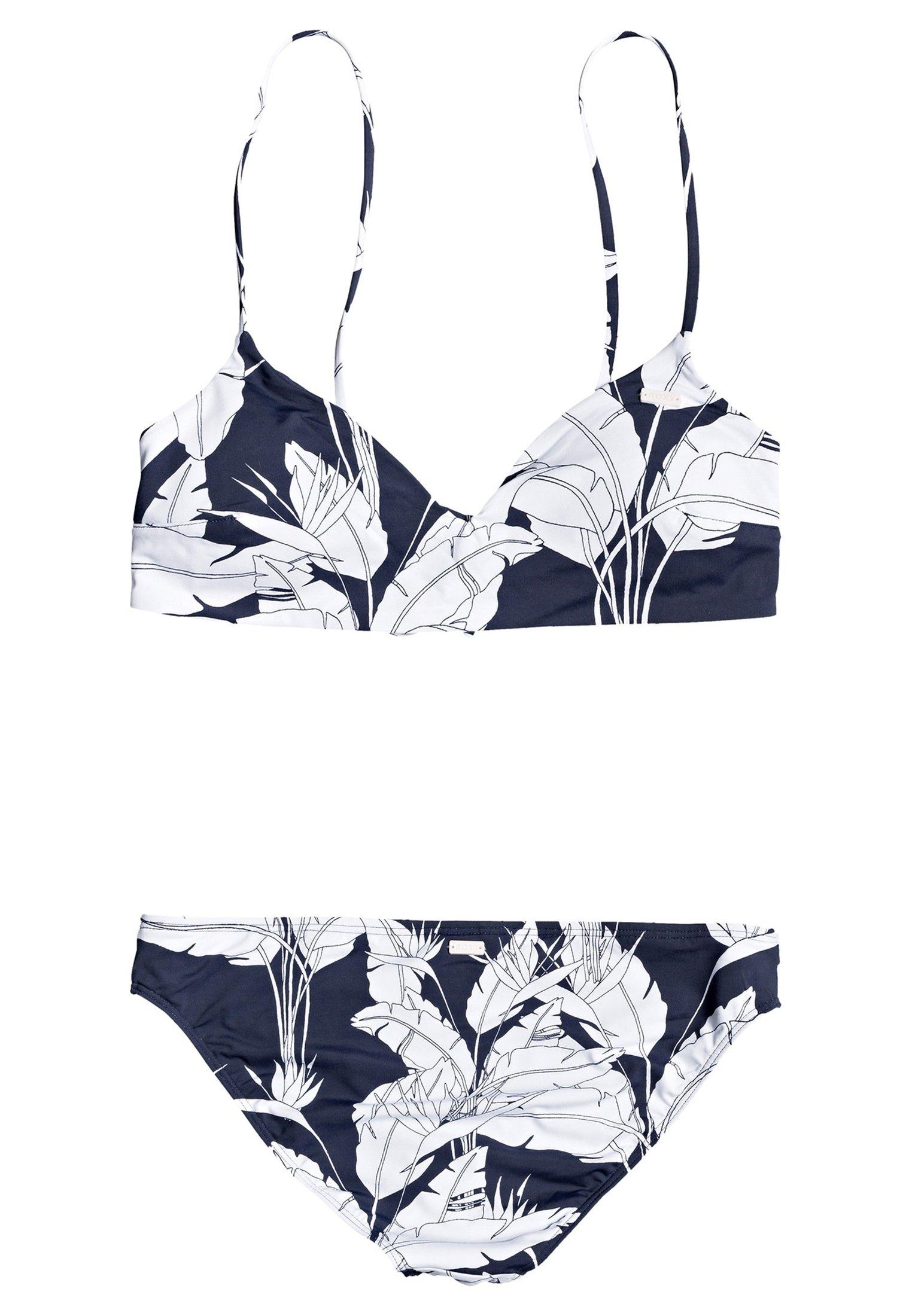Roxy Roxy™ Printed Beach Classics - Athletic-bikini-set Für Frauen Er Bikini Terra Cotta Flying Flowers S Black Friday