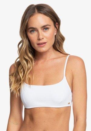 CASUAL MOOD   - Bikini top - bright white
