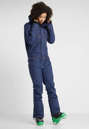 FORMATION SUIT - Täckbyxor - mid denim