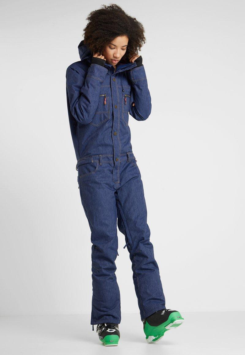 Roxy - FORMATION SUIT - Pantaloni da neve - mid denim