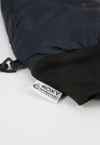 Roxy - PACKABLE MIT - Moufles - true black - 4