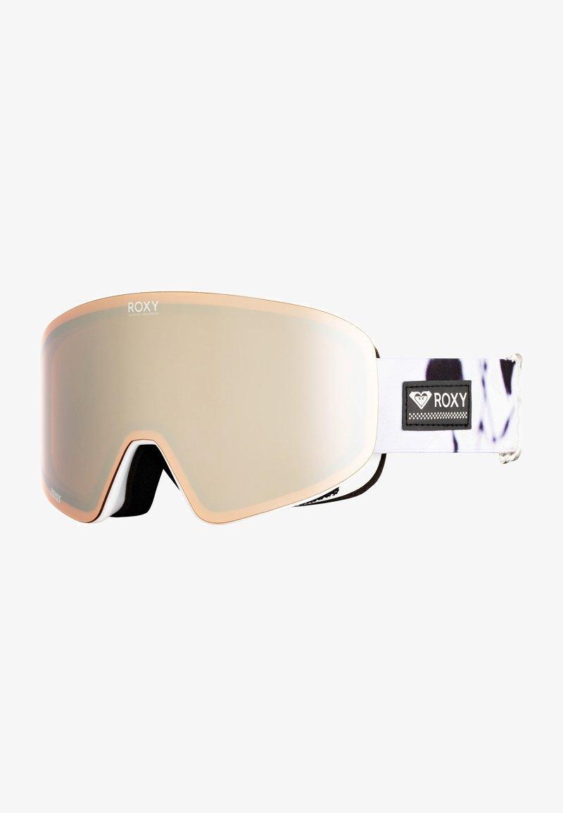 Roxy - FEELIN - Masque de ski - true black/white birds