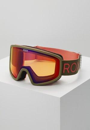 FEENITY - Ski goggles - ivy green