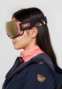Roxy - POPSCREEN - Ski goggles - true black - 1