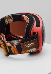 Roxy - POPSCREEN - Ski goggles - true black - 2