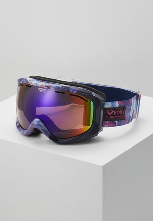 SUNSET ART - Ski goggles - medieval blue cloudy day