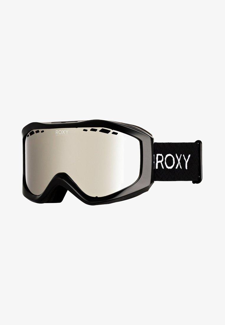 Roxy - SUNSET MIRROR - Ski goggles - true black