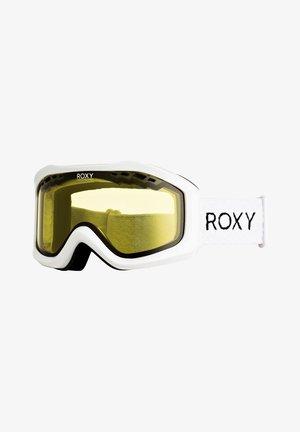 Ski goggles - bright white