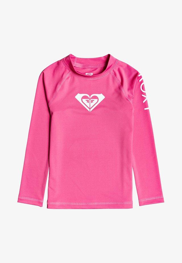 WHOLE HEARTED - Rash vest - pink flambe
