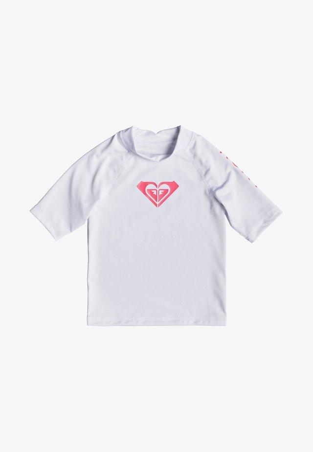 WHOLE HEARTED - Rash vest - bright white