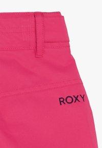 Roxy - BACKYARD  - Zimní kalhoty - beetroot pink - 5