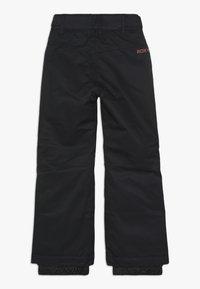 Roxy - BACKYARD  - Zimní kalhoty - true black - 1