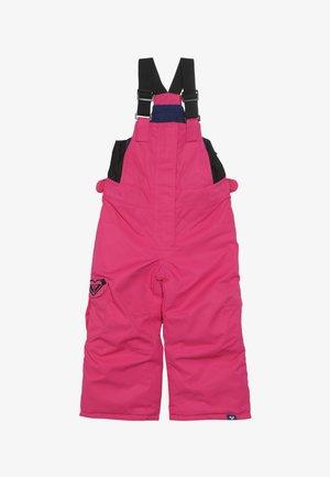 LOLA  - Pantalon de ski - beetroot pink