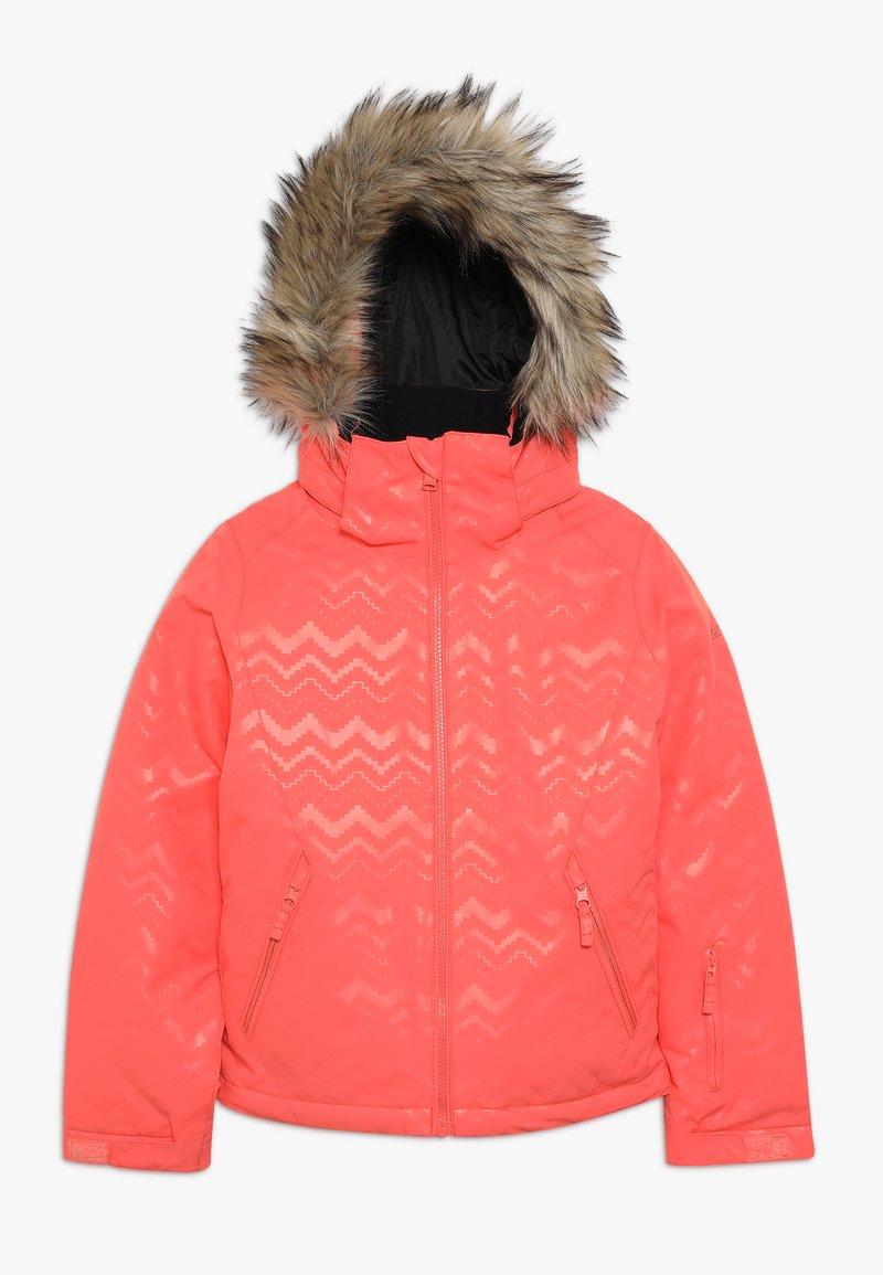 Roxy - JET SKI - Snowboard jacket - living coral