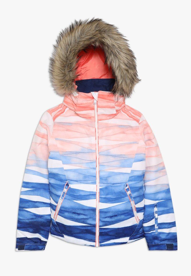 Roxy - JET SKI GIRL  - Snowboardjakke - mid denim/yumi yamada