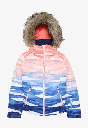 JET SKI GIRL  - Snowboardová bunda - mid denim/yumi yamada