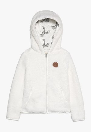 SILVER WATER - Fleece jacket - snow white