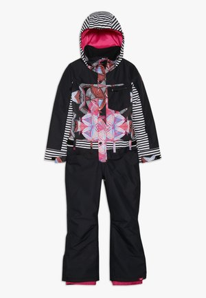 FORMATION GIRL SUIT - Snowsuit - true black/active base