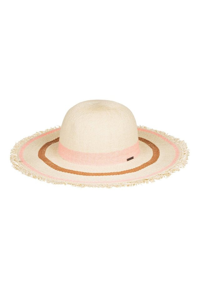 ROXY™ SOUND OF THE OCEAN - STRAW CAPELINE SUN HAT ERJHA03697 - Hat - terra cotta