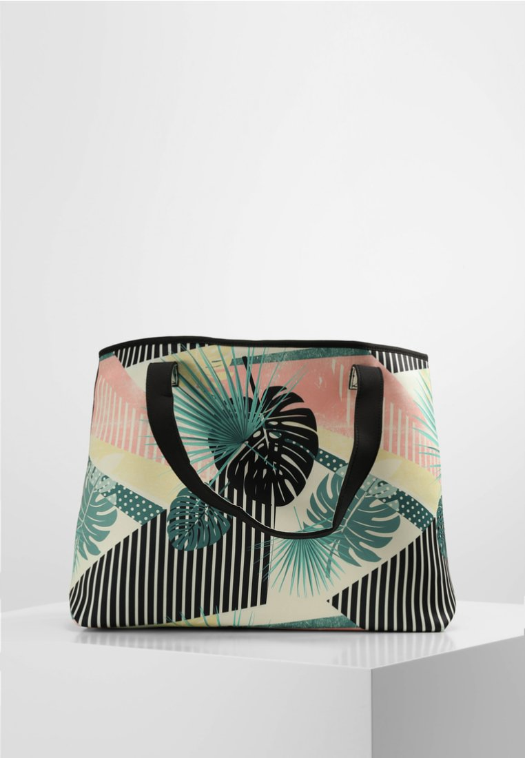 Roxy - ALL THINGS - WENDBARER - Tote bag - tblack crazy victoria popsurf