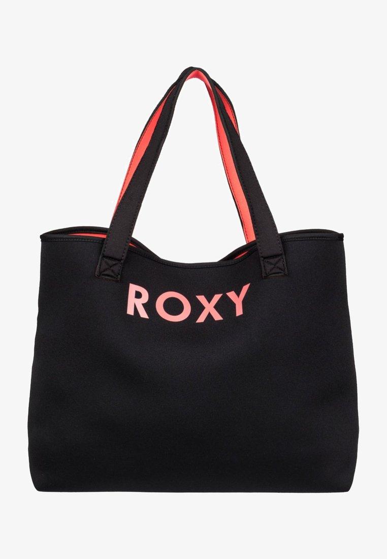 Roxy - Tote bag - black/red