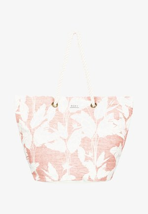 SUNSEEKER - Tote bag - terra cotta flying flowers