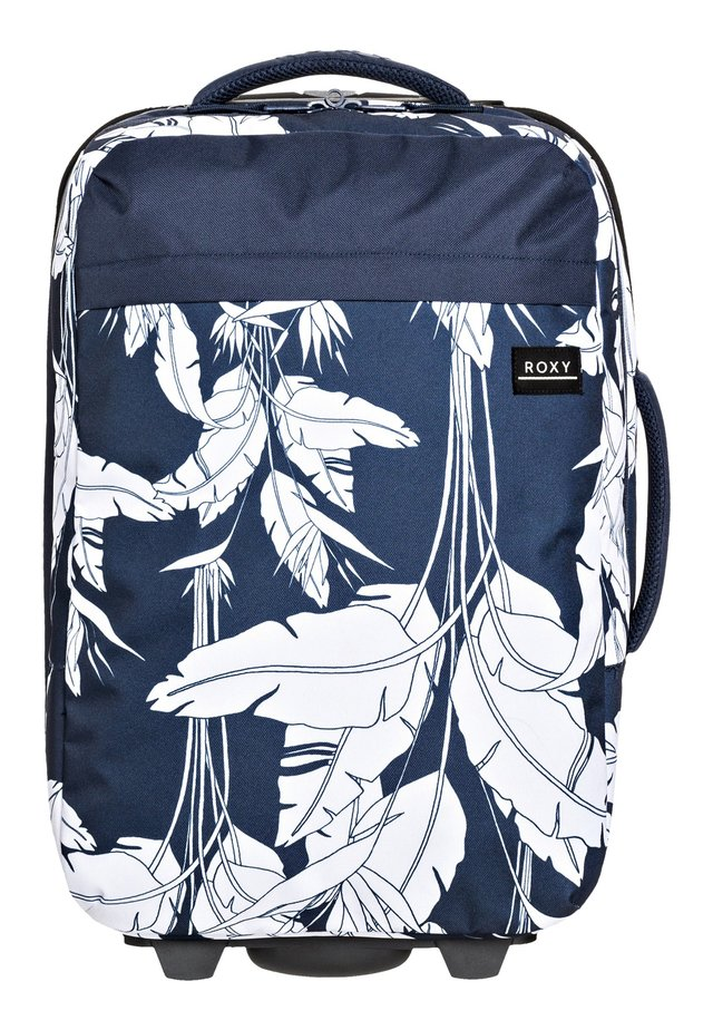 ROXY™ FEEL THE SKY 35L - HANDGEPÄCKSKOFFER MIT ROLLEN ERJBL03193 - Trolley - mood indigo flying flowers s