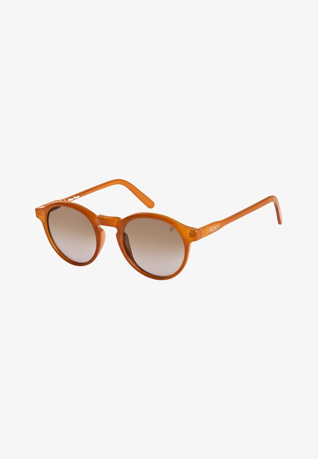 MOANNA  - Sonnenbrille - shn cry brown/mi gl gr brown p